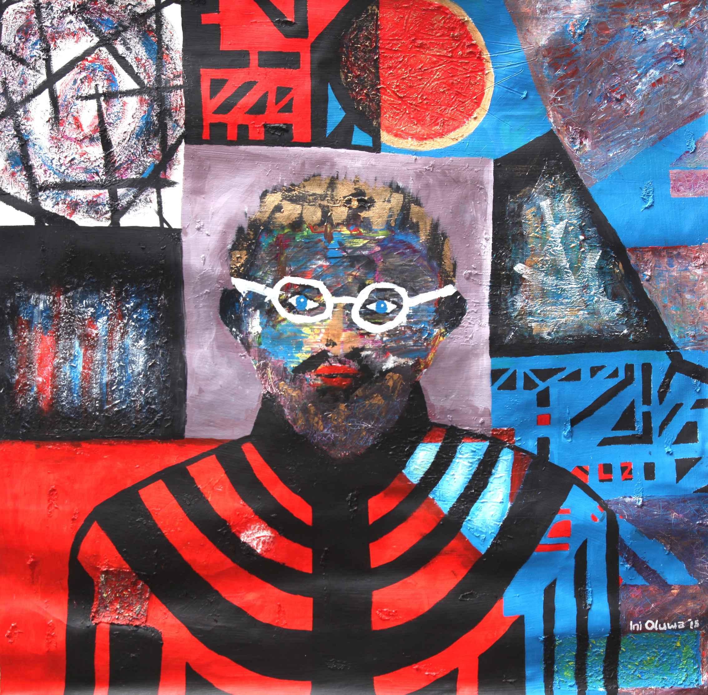 """McQueen Pius""/ ""Blac... by Mr Inioluwa Aboluwarin - Masterpiece Online"