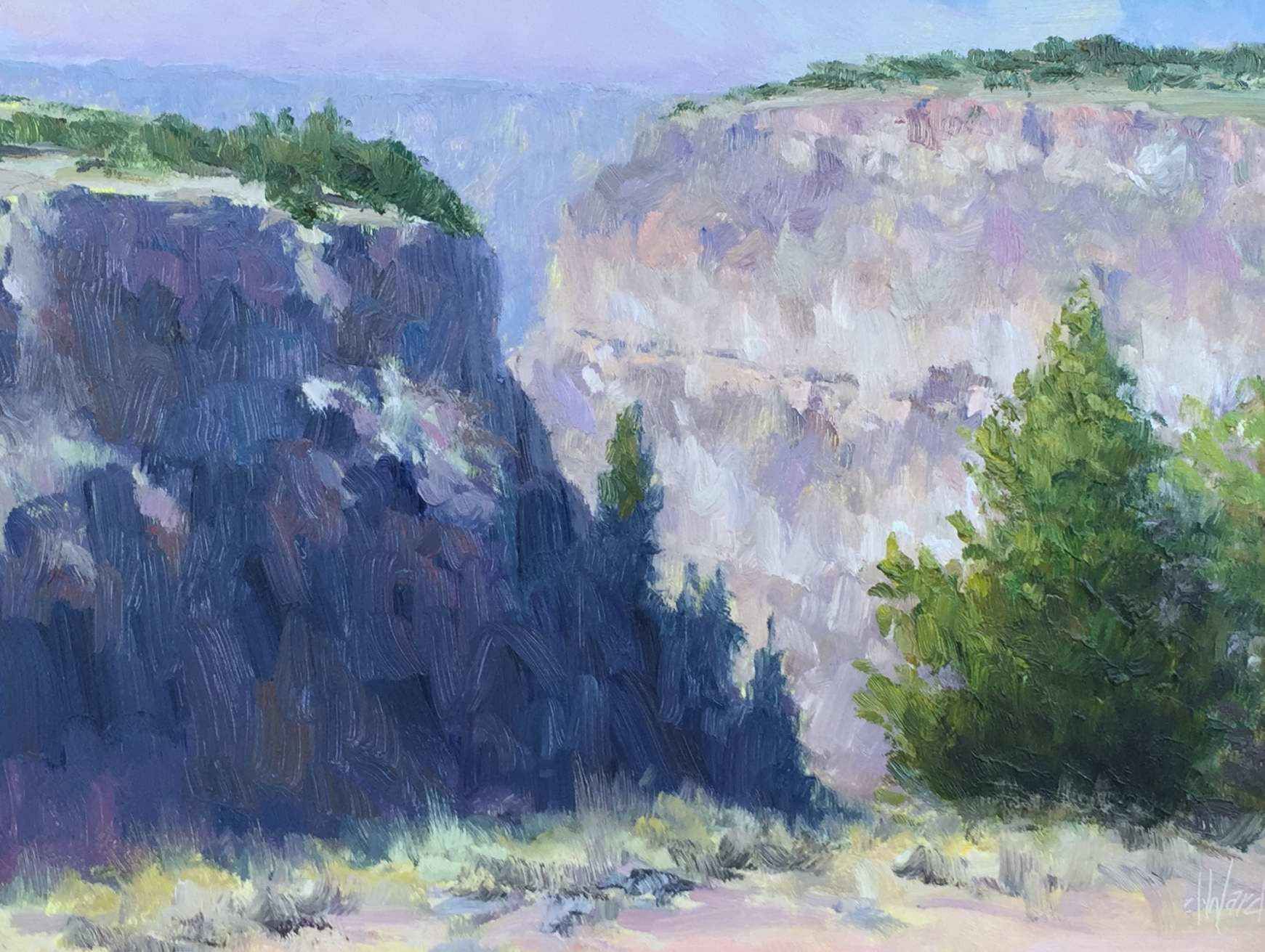 Canyon View by  Don Ward - Masterpiece Online