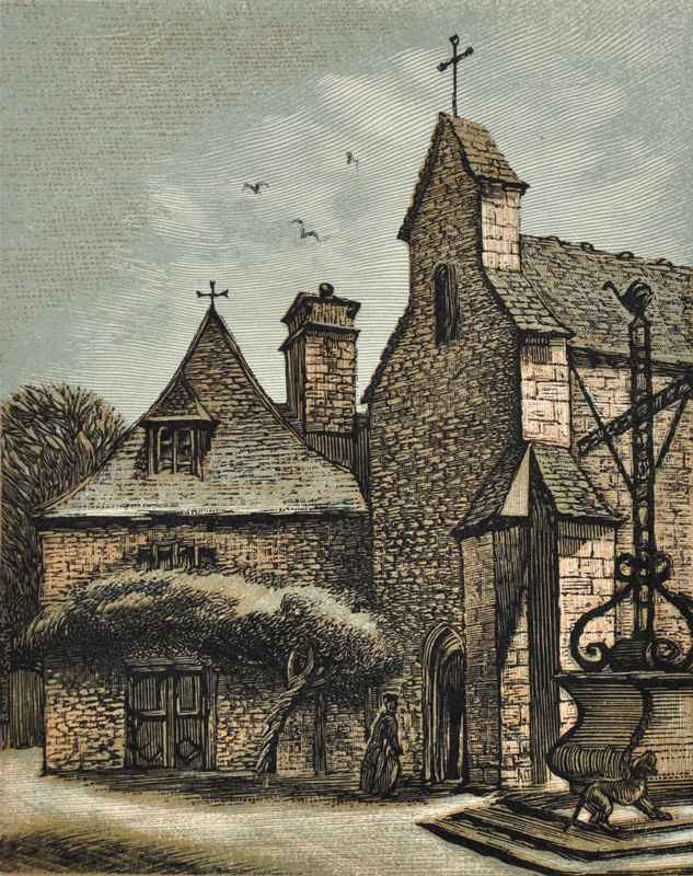 Chapelle des Penitent... by  Bernard Brussel-Smith (1914-1989) - Masterpiece Online