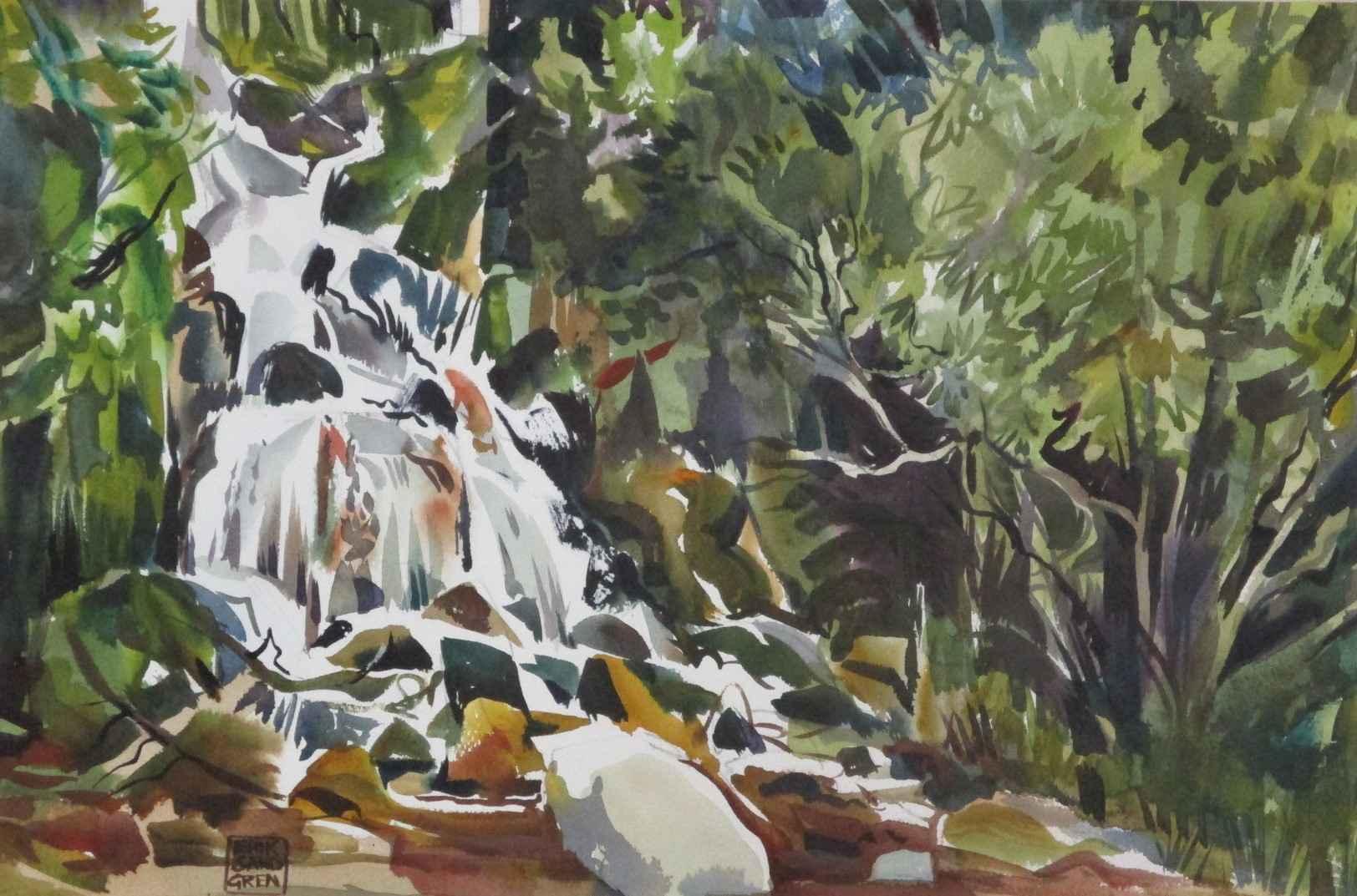 Waterfall by  Erik Sandgren - Masterpiece Online
