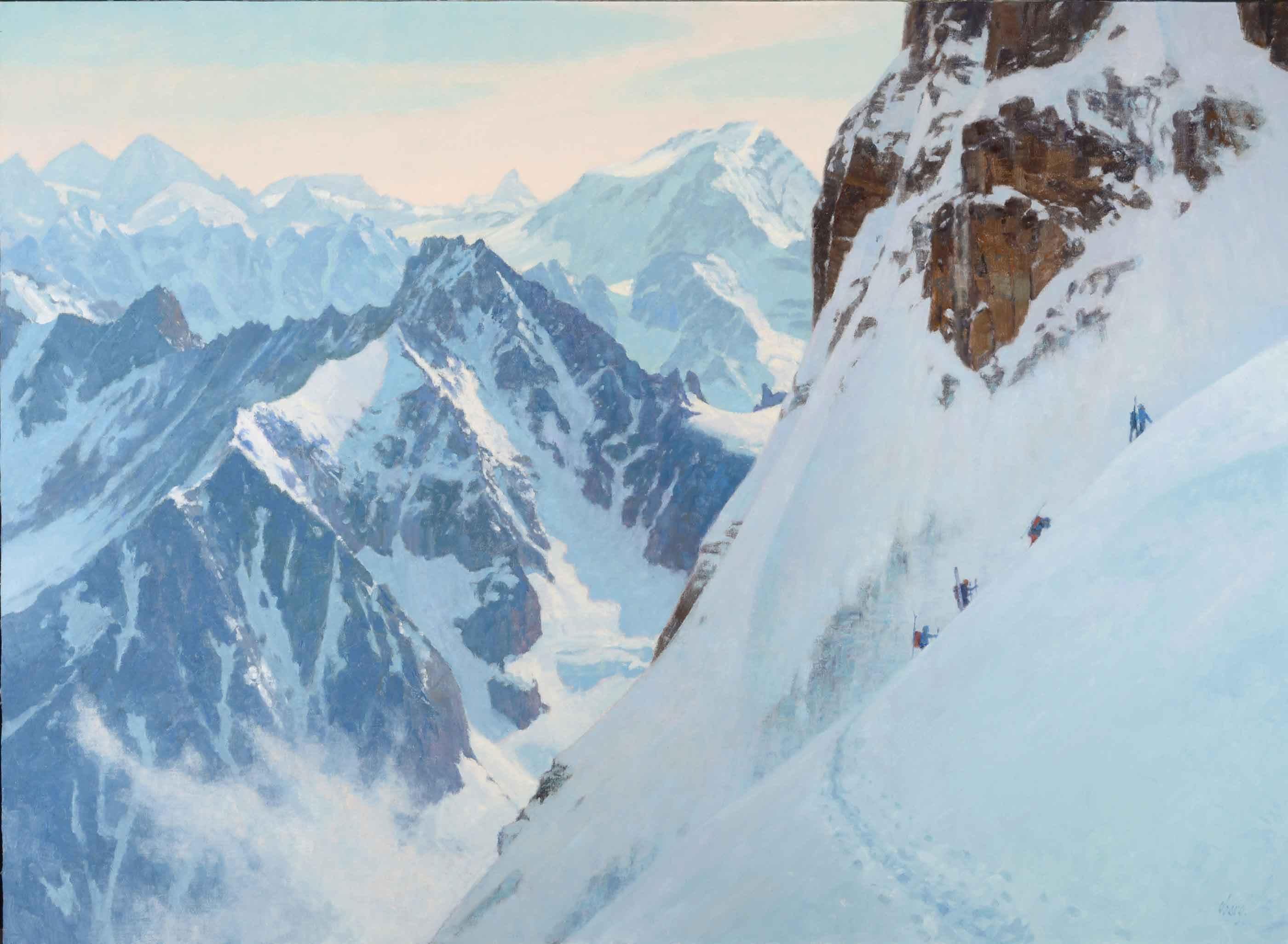 Alpine Adventurers by Mr. Ralph Oberg - Masterpiece Online