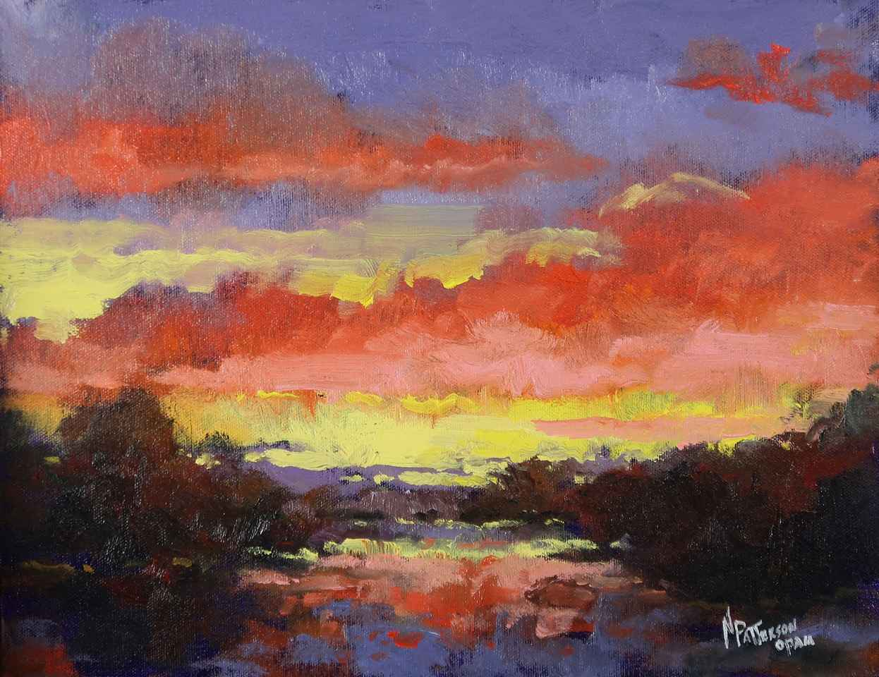 Pink Sky by  Neil Patterson - Masterpiece Online