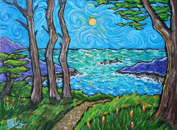 Walking the Path by  Elizabeth Jackson - Masterpiece Online