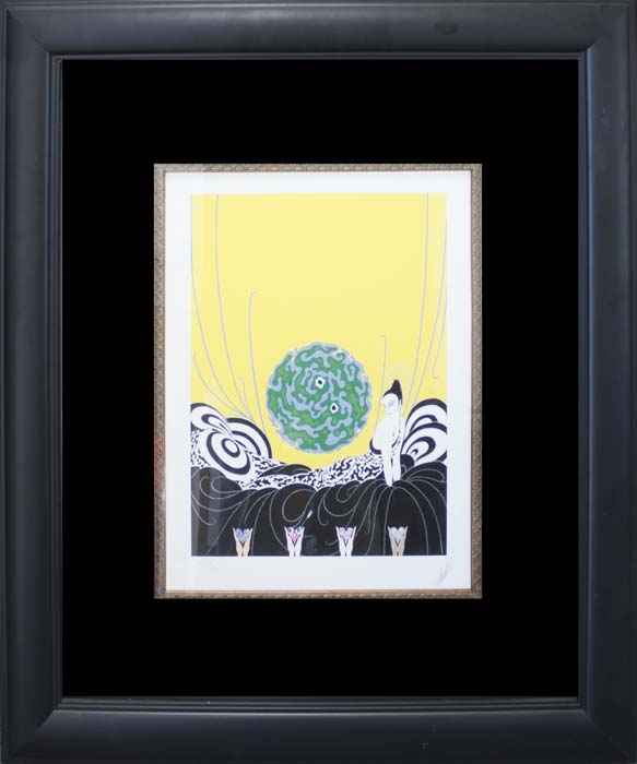 Selection of the Heart by   Erte - Masterpiece Online