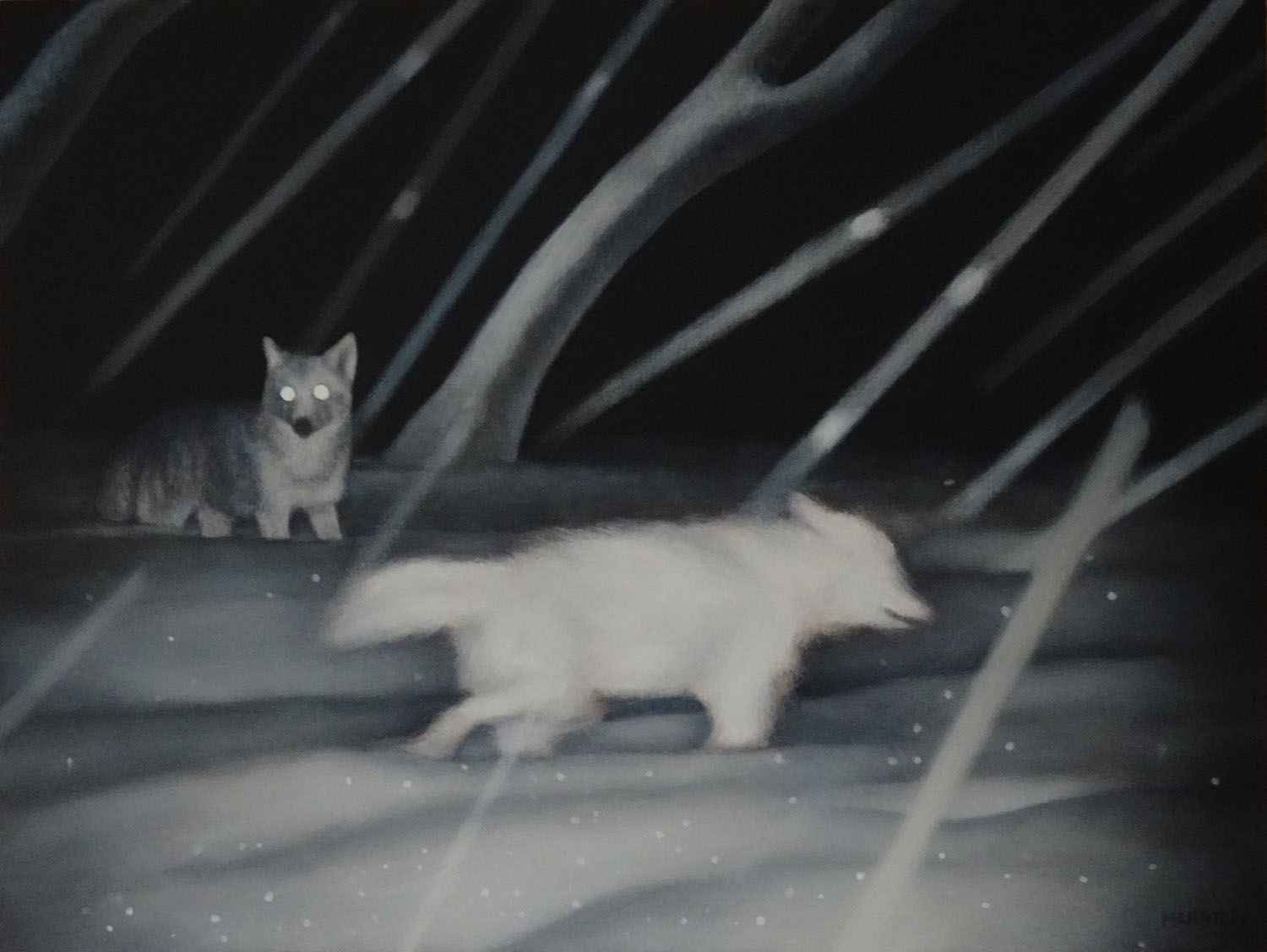 Snow Pack by  Valerie Mangion - Masterpiece Online