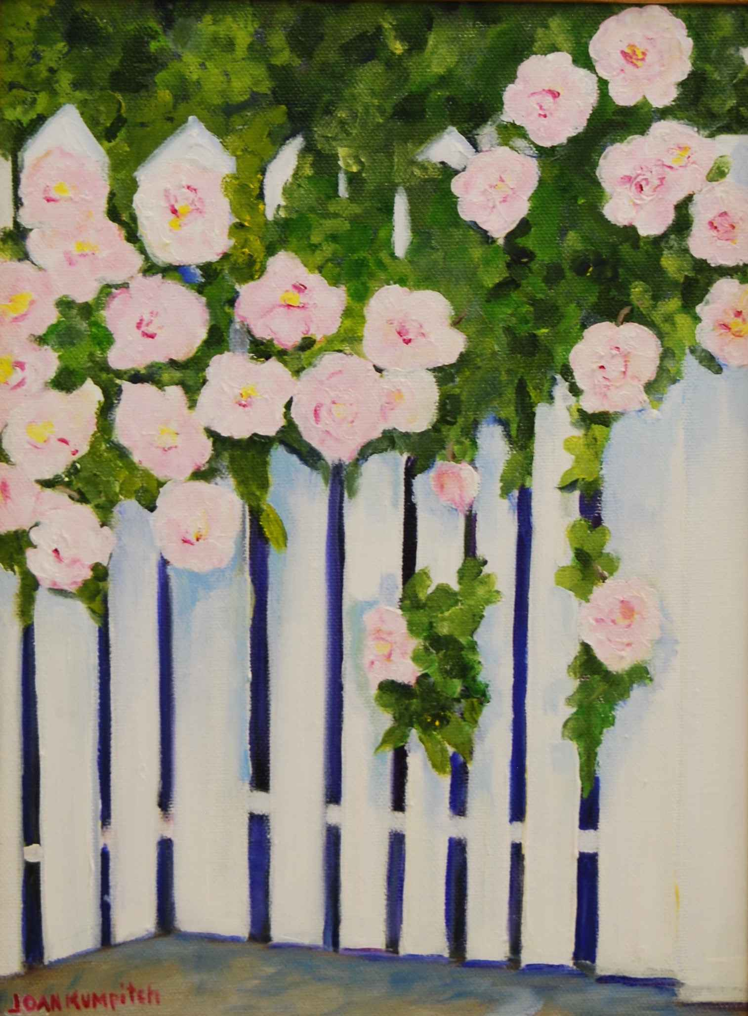 Edgartown Roses by  Joan Kumpitch - Masterpiece Online