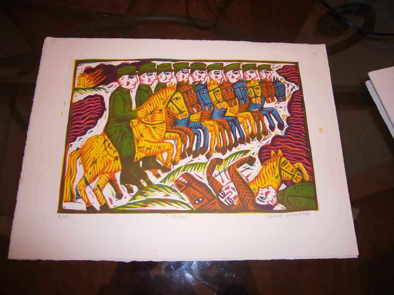 Babel  by  Sophia Dutreme Prints