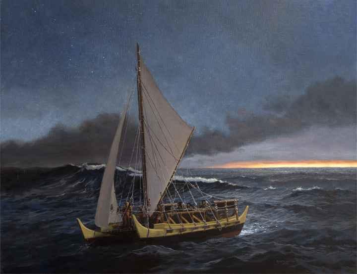 He Wa'a He Moku by  Edwin B. Kayton - Masterpiece Online