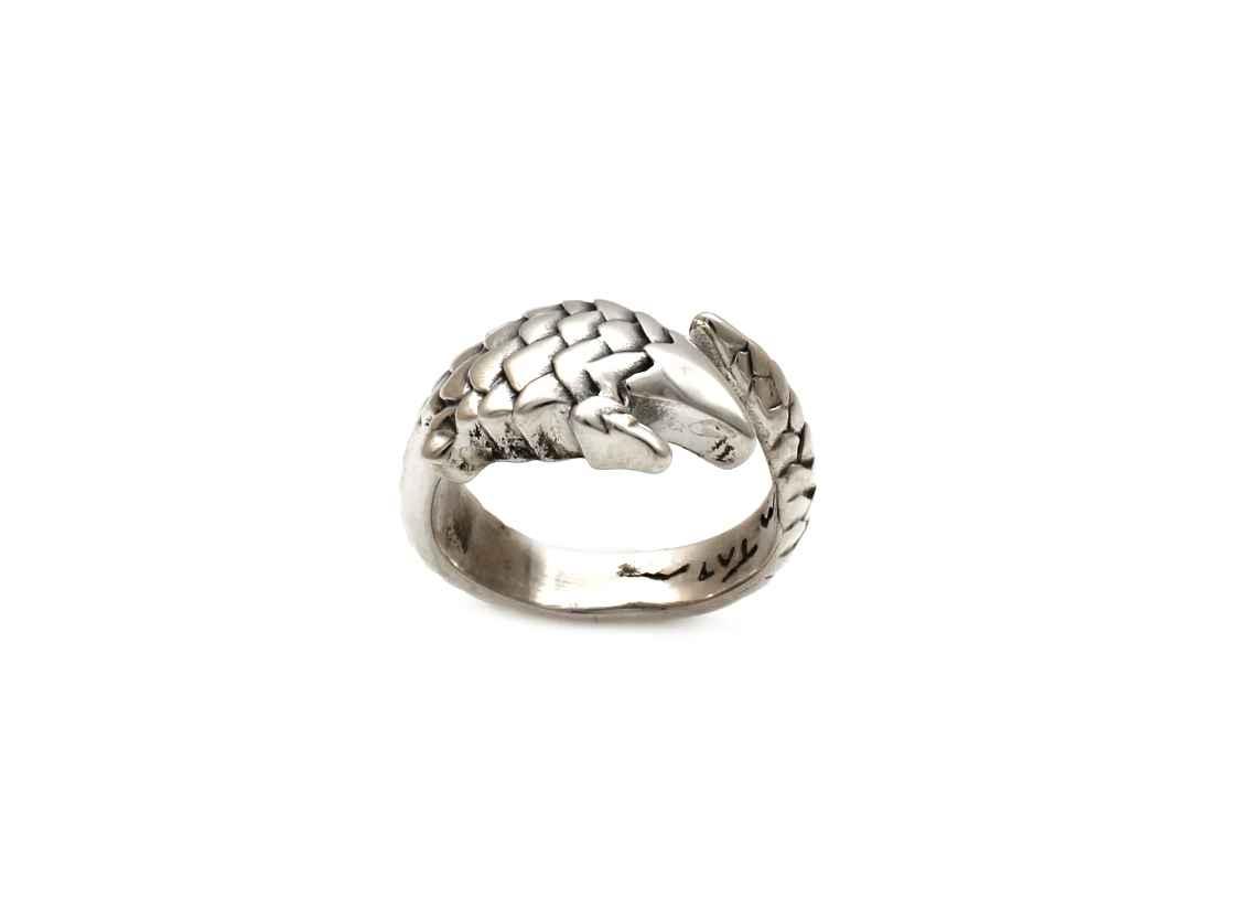 Pangolin Ring by  Michael Tatom - Masterpiece Online