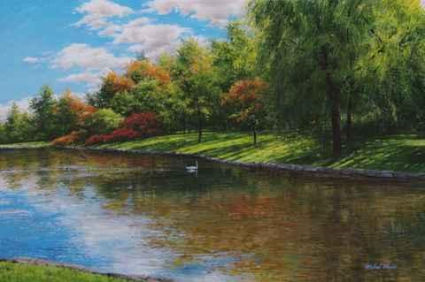 Swan Lake - Late Sept...