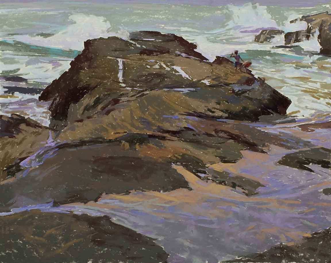 Giving Back to the Sea by  W. Truman Hosner - Masterpiece Online