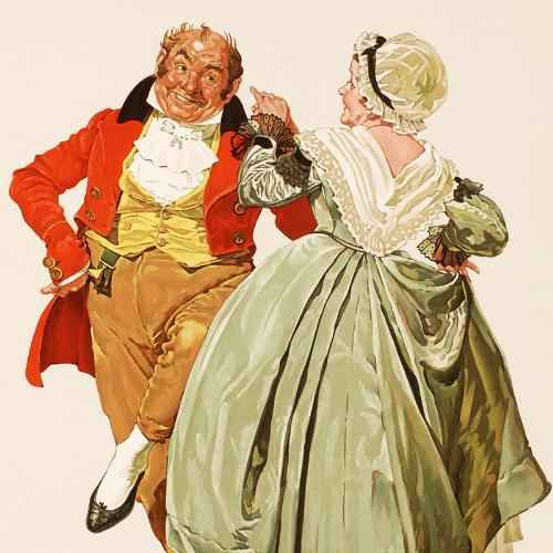 Dancing Partners by  Norman Rockwell - Masterpiece Online
