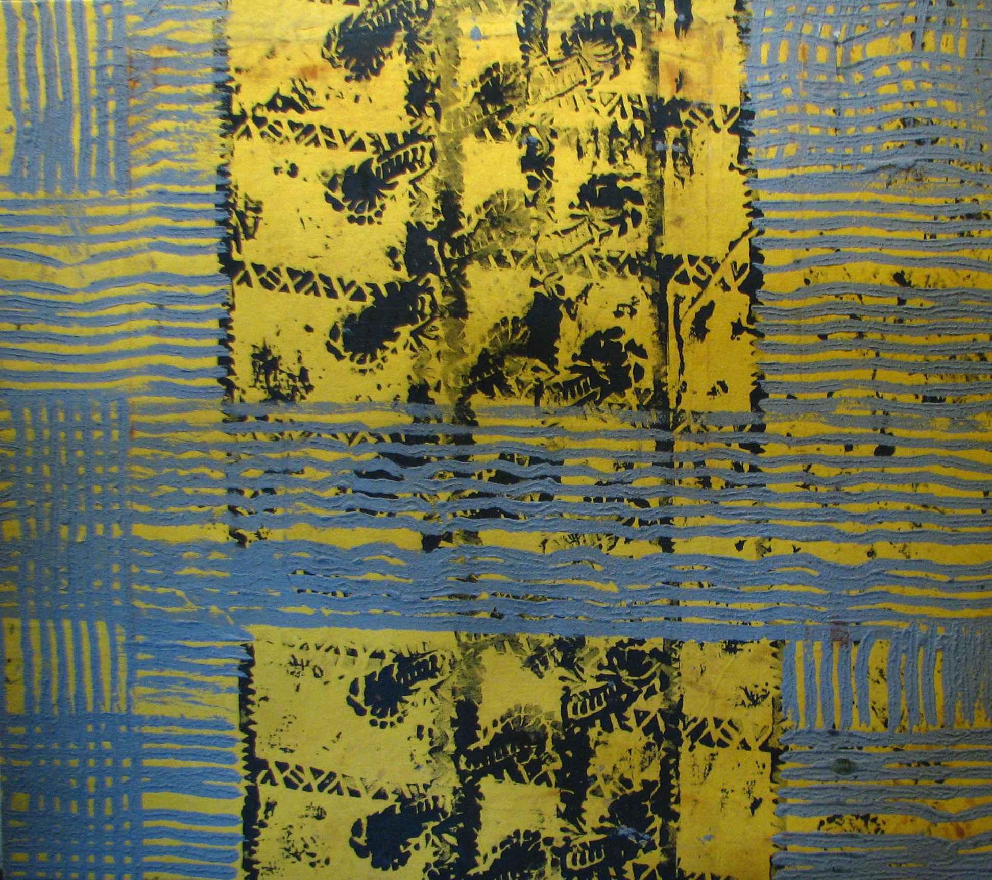 Untitled Yellow Kapa by  Kaui Chun - Masterpiece Online