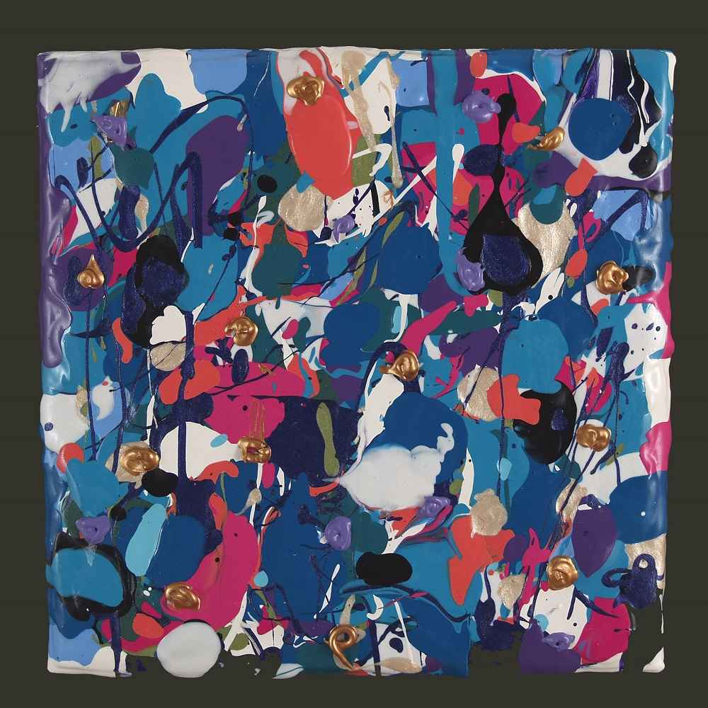 Favorite Blue, Turquo... by  Jane Gates - Masterpiece Online