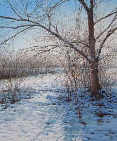 Icy Twigs - Winter Su... by  Michael Wheeler - Masterpiece Online