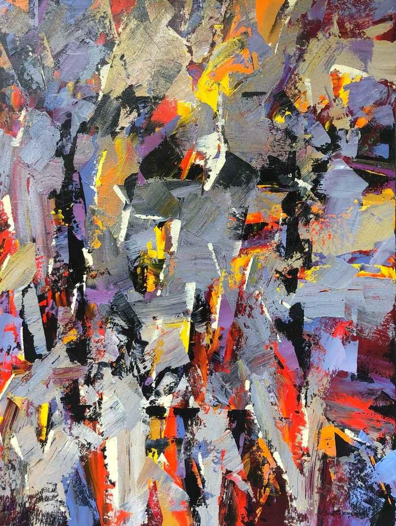 Amoureux des Couleurs by  Christian Bergeron - Masterpiece Online