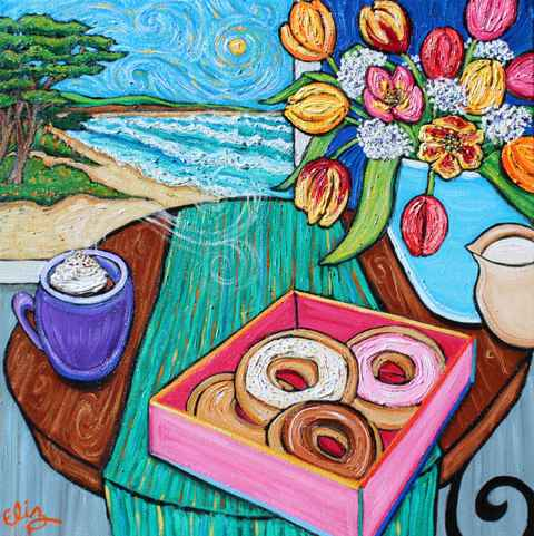 Vacation by the Sea by  Elizabeth Jackson - Masterpiece Online