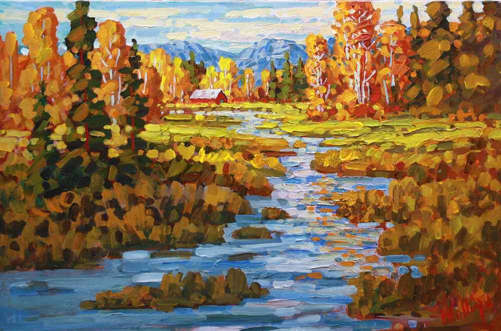 Fall Colour  by  Ken Gillespie
