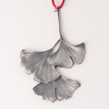 Gingko Leaf Ornament