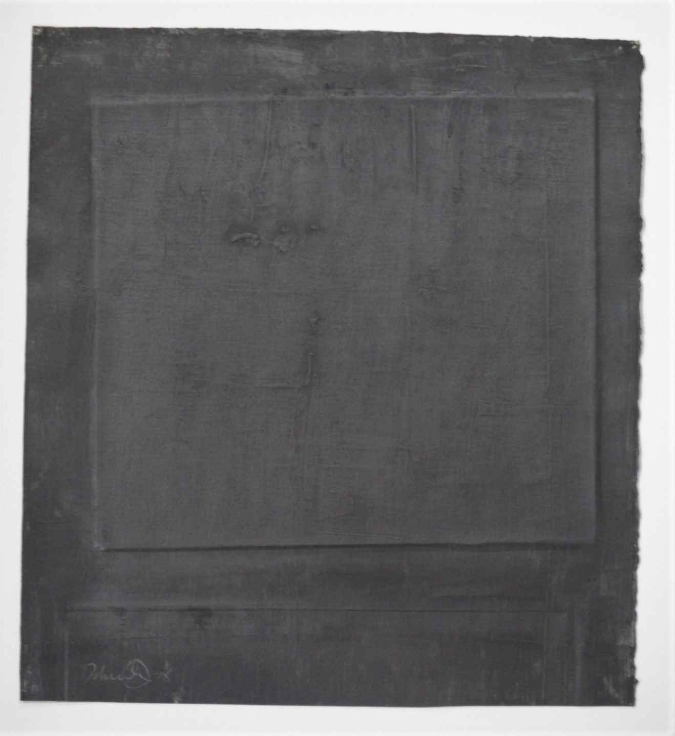 Untitled ( Black abst... by  Drake Deknatel - Masterpiece Online