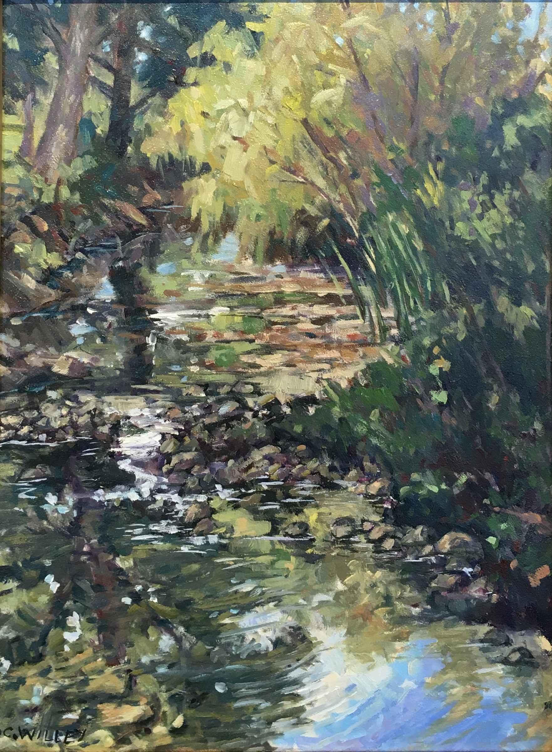 Plaza West Brush Creek by  Chris Willey - Masterpiece Online
