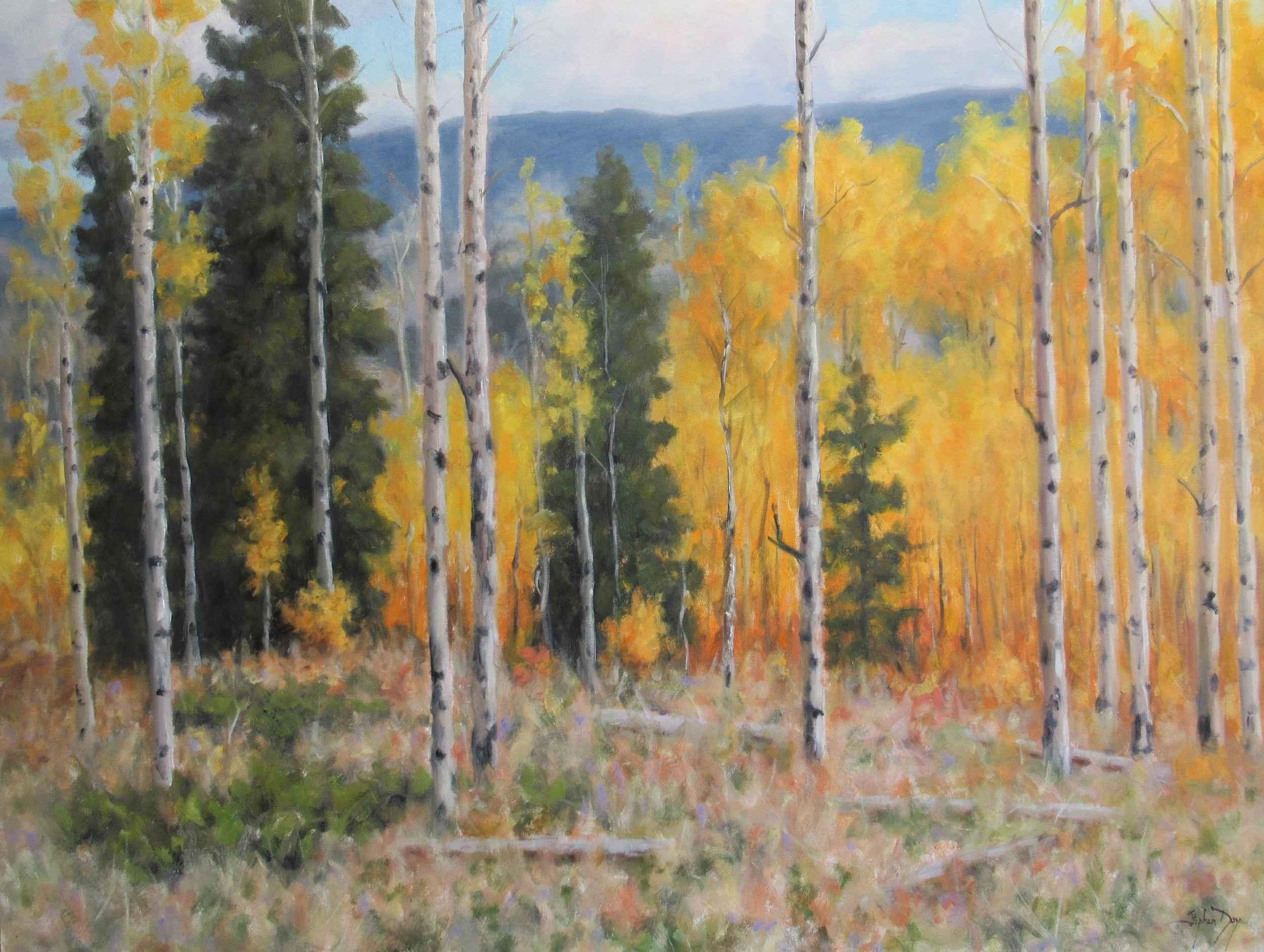 Fall Splendor by  Stephen Day - Masterpiece Online