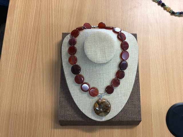 Carnelian And Agate by Mrs Larissa Hale - Masterpiece Online
