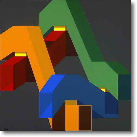 Subway Crossing Serie... by Mr. Malcolm Montague Davis - Masterpiece Online