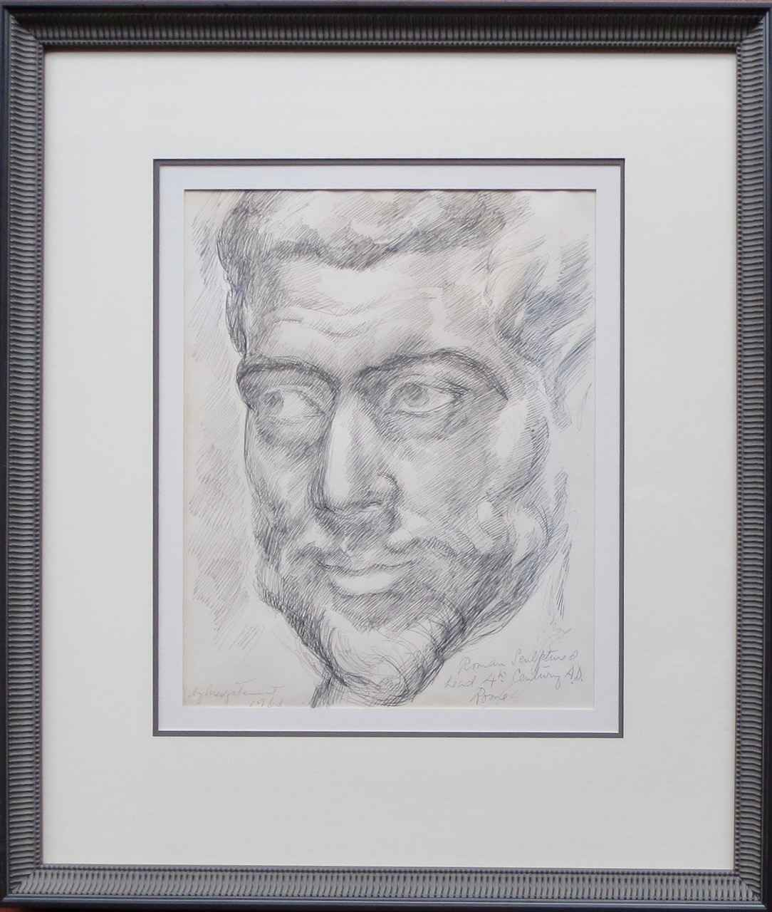 Drawing of Roman Scul... by  Madge Tennent (1889-1972) - Masterpiece Online