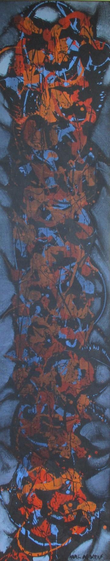 Unknown (Blue/Orange ... by  Carl Morris - Masterpiece Online