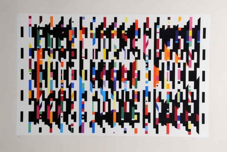 Untitled plate - Hom... by  Yaacov Agam - Masterpiece Online