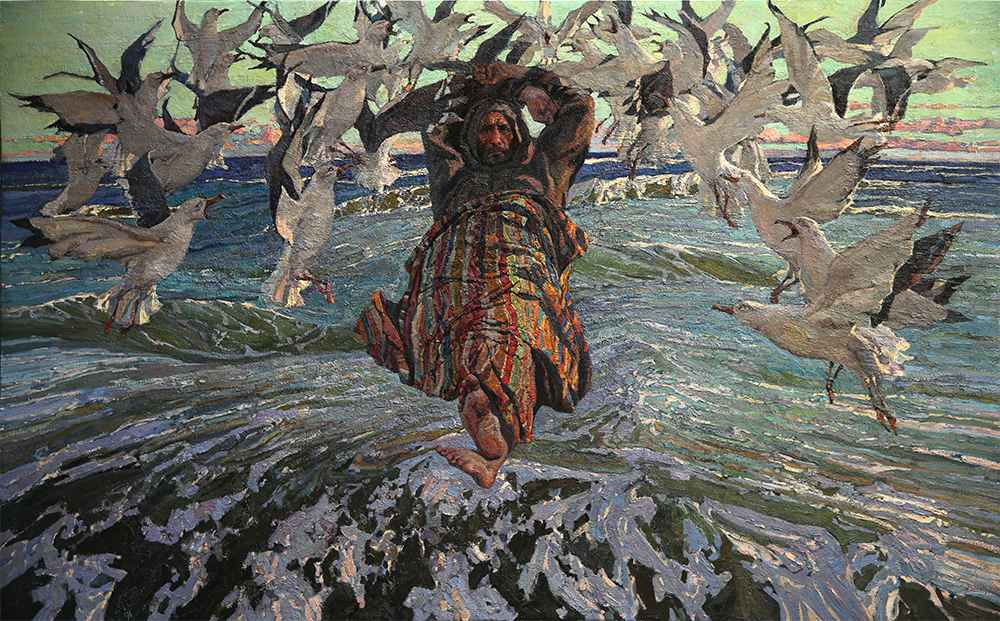 His World, II by  Daud Akhriev - Masterpiece Online