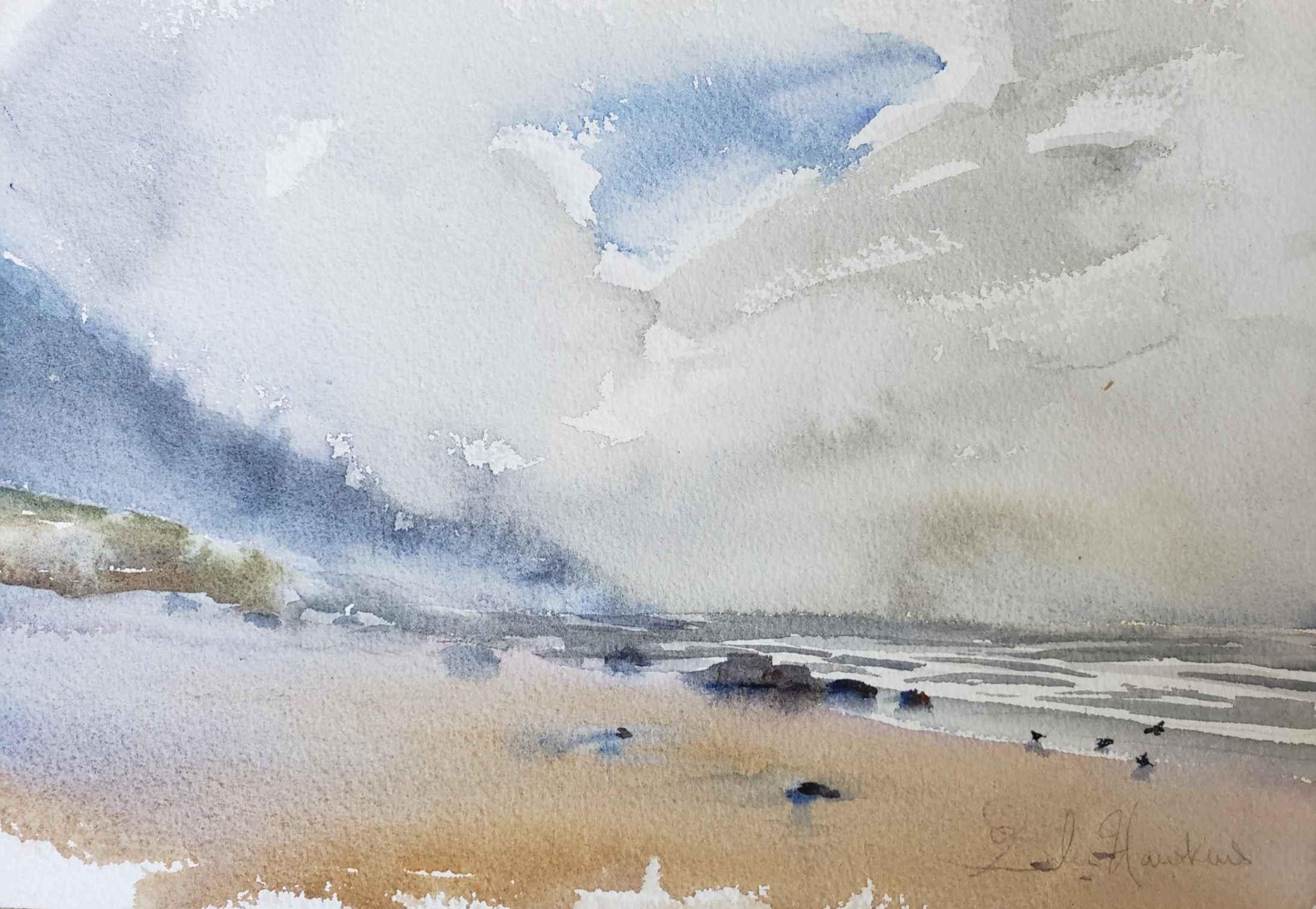 Beach Morning by Mr. Glen Hawkins - Masterpiece Online