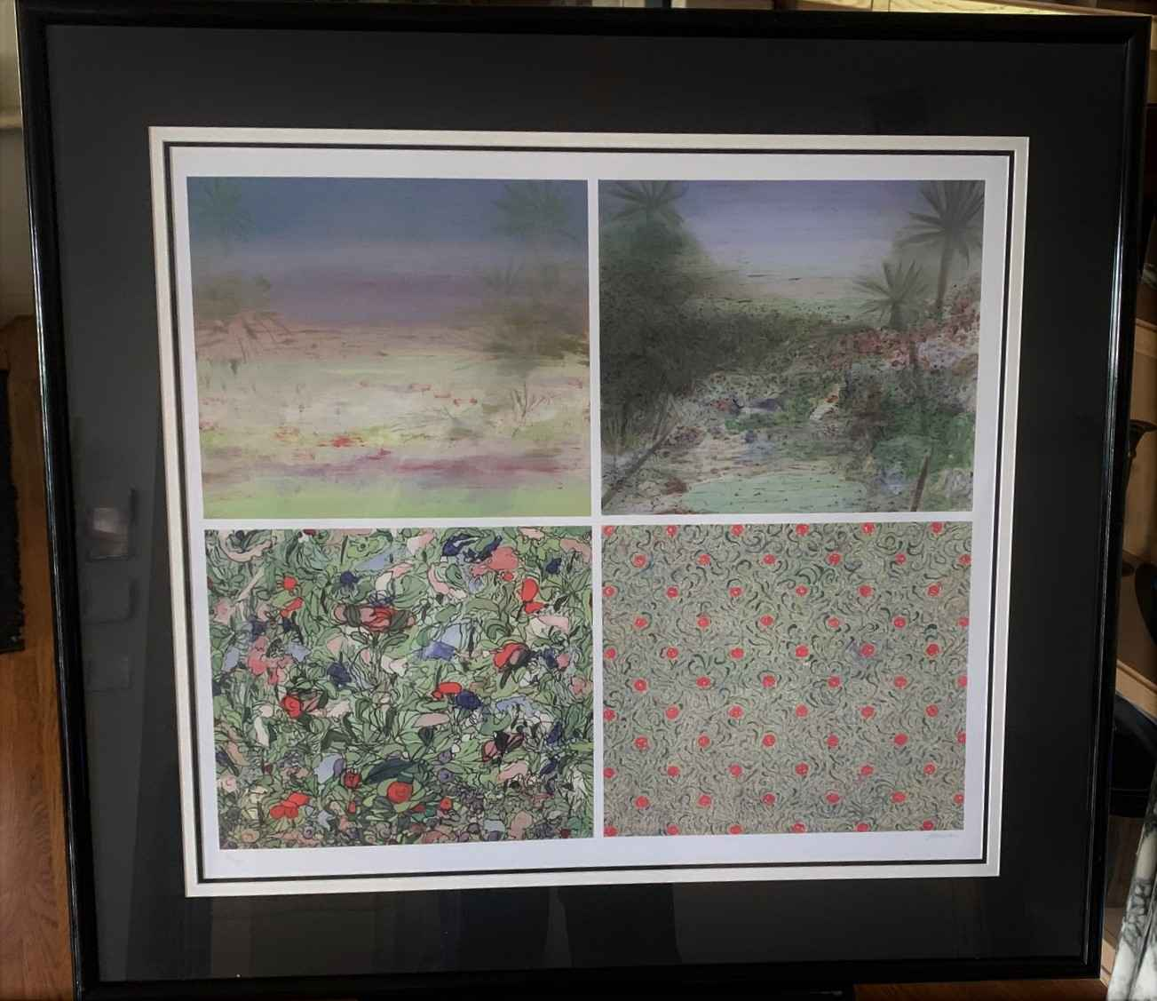 About Landscape II by  Farideh Golbahar - Masterpiece Online