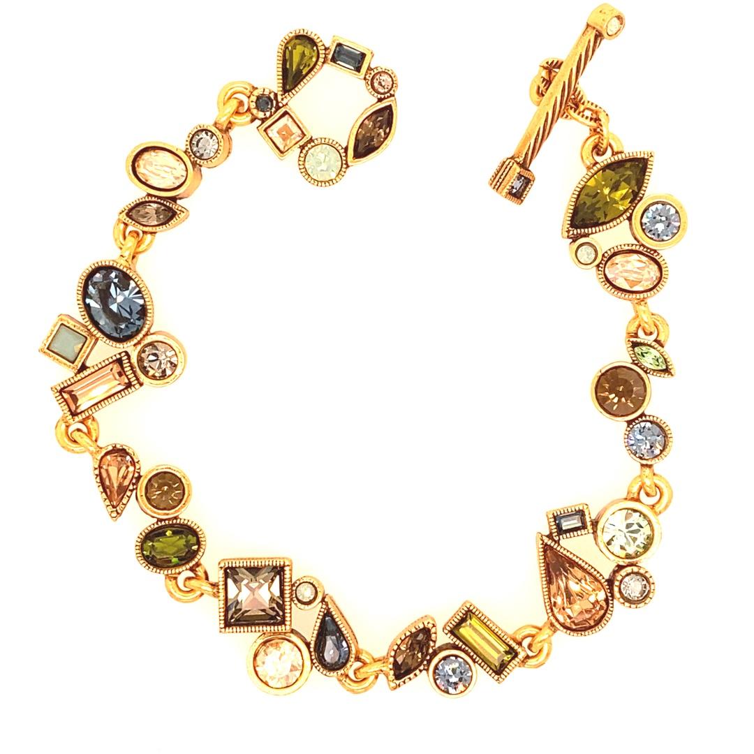 Wedding March Bracelet in Gold, Cascade