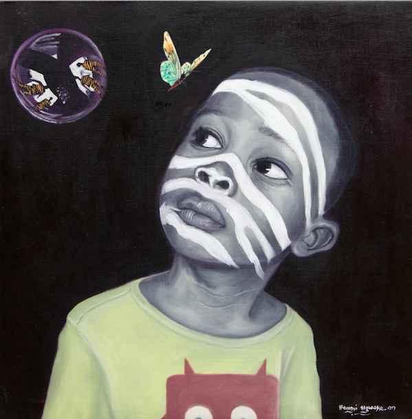 Zebra Problem IV by Mr Ifeanyi Ugwoke - Masterpiece Online
