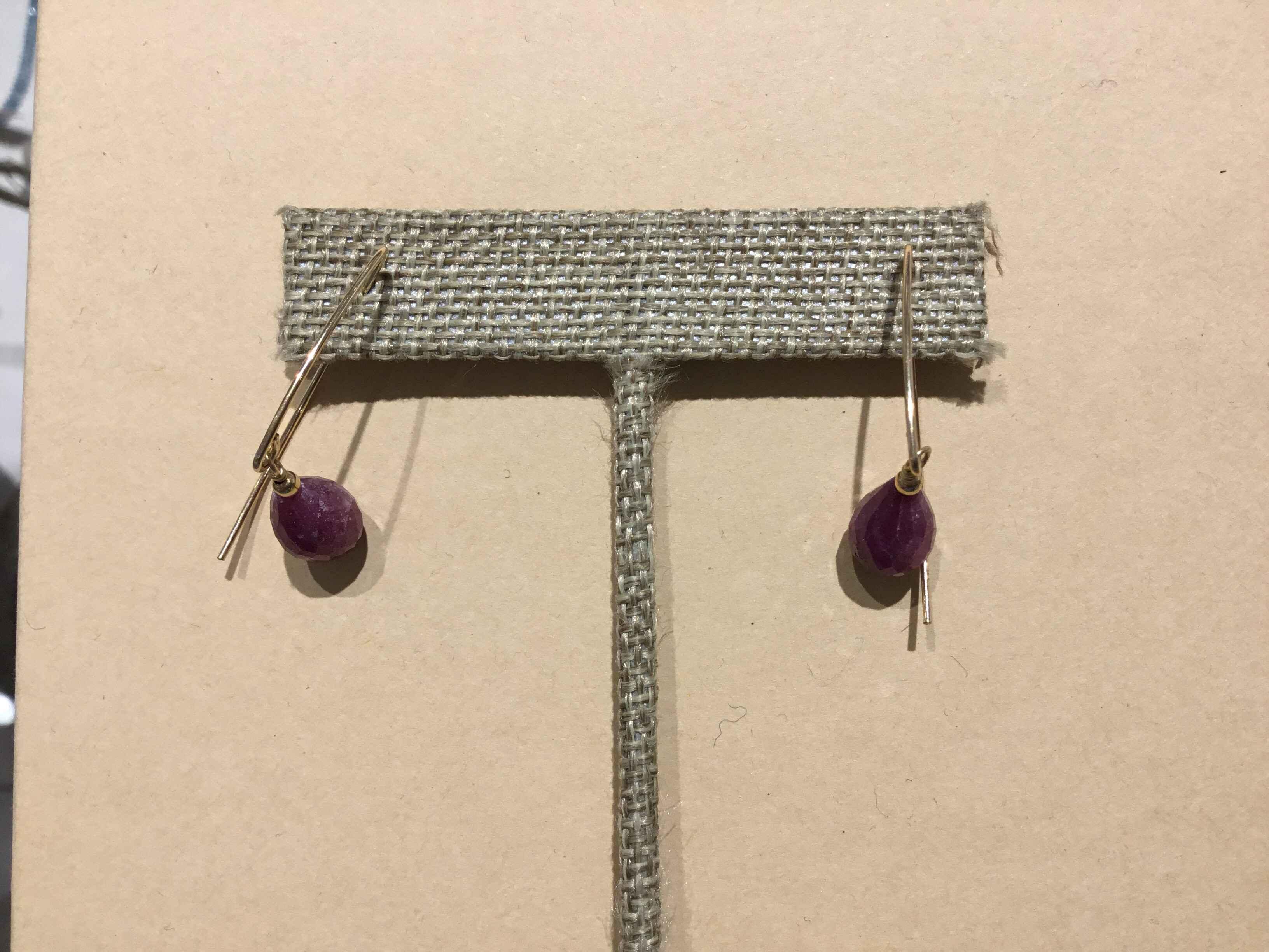 PP3012 Ruby Earrings ... by  Pat PEARLMAN - Masterpiece Online