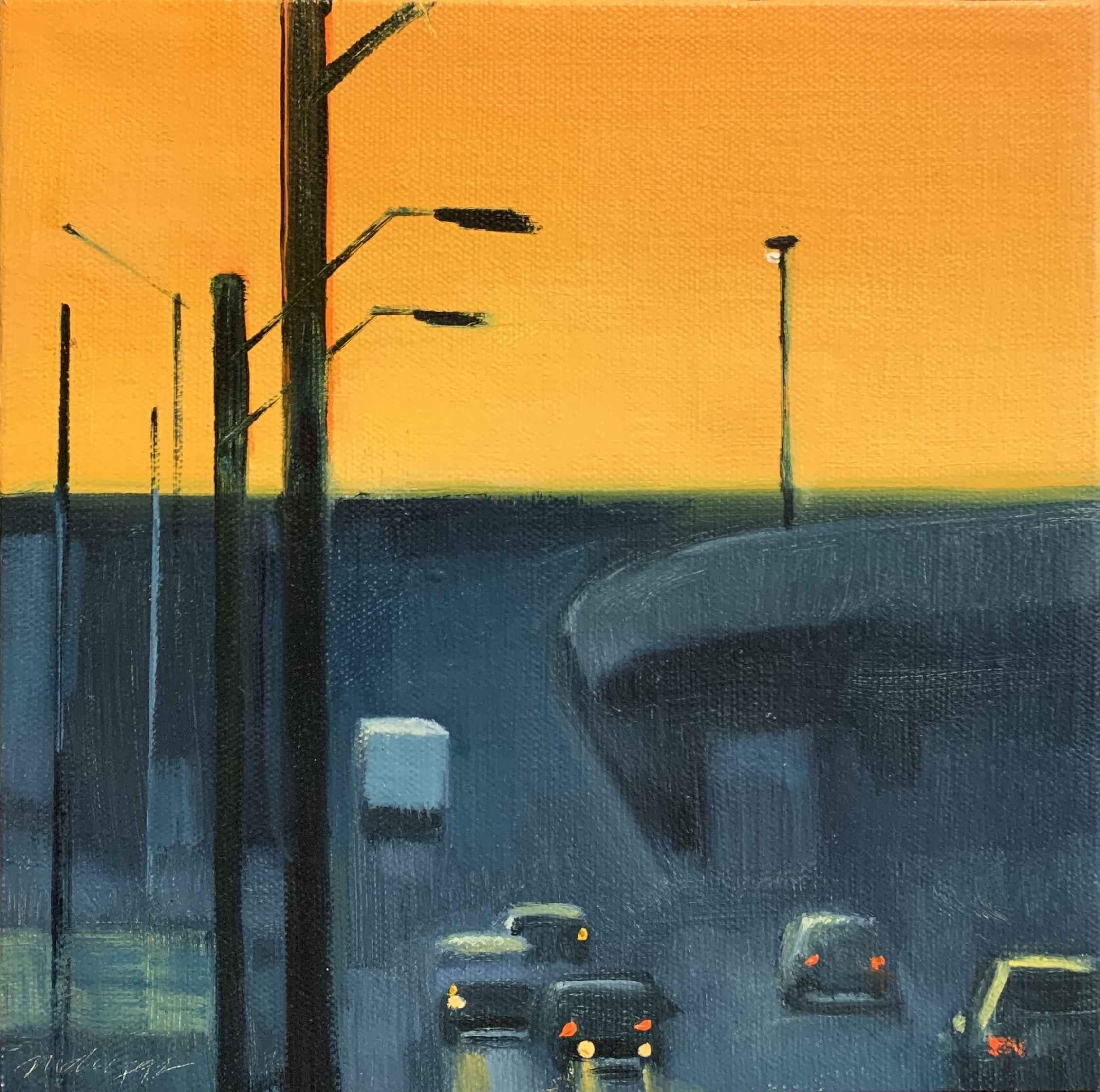 Bottoms Sunset Sketch by  Michael Driggs - Masterpiece Online