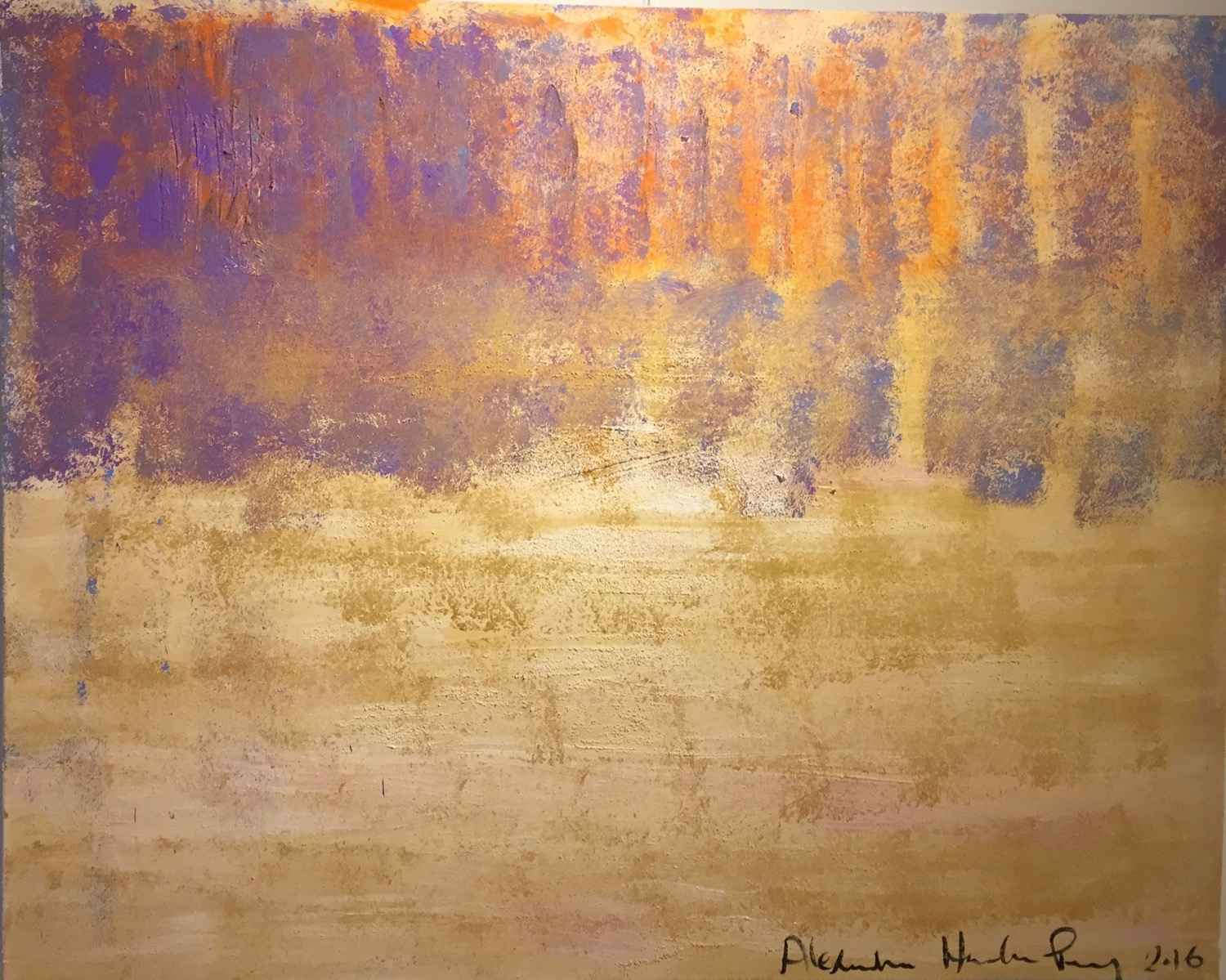 Gold Sky 2 by  Alexandra HEUMBER PERRY - Masterpiece Online