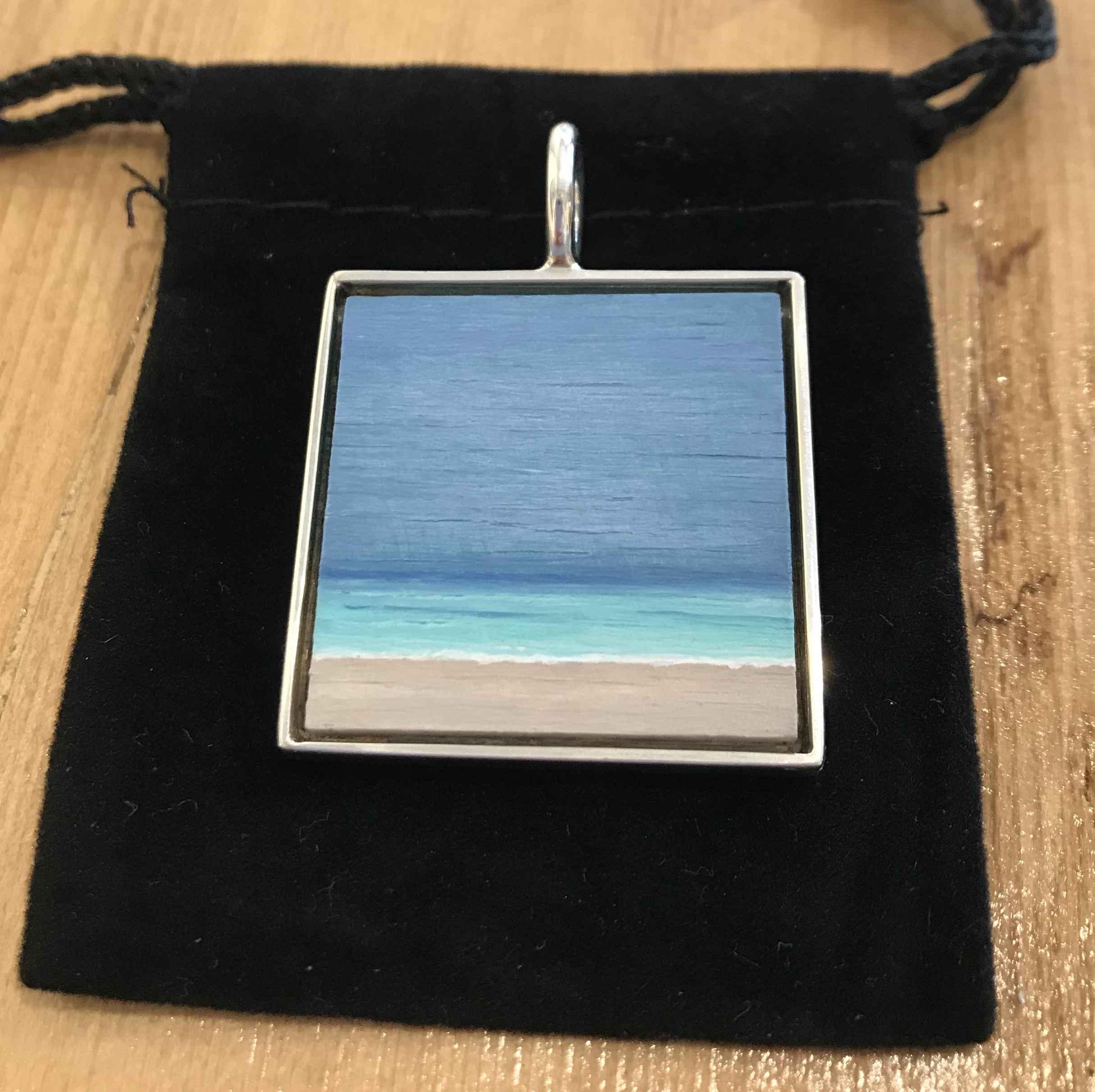 #265 med - sq Seascape by  Nell Mercier - Masterpiece Online