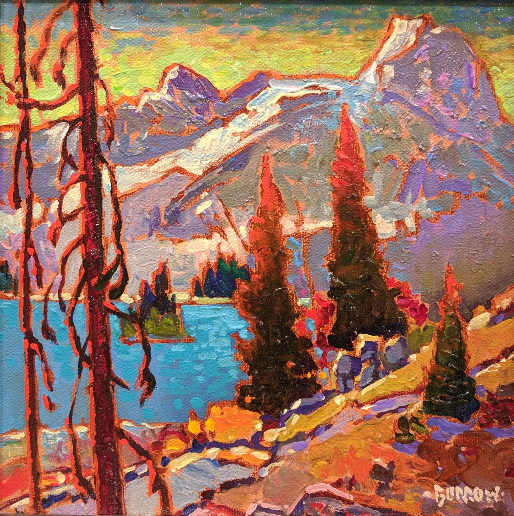 Canmore Winter by Mr John Burrow - Masterpiece Online