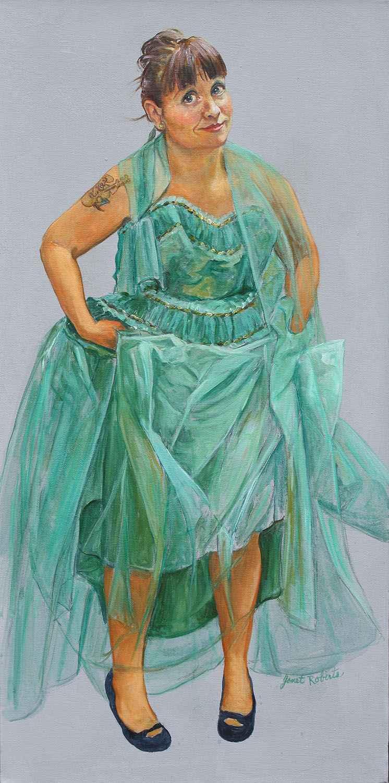 ROCKABILLY GIRL by  Janet Roberts - Masterpiece Online