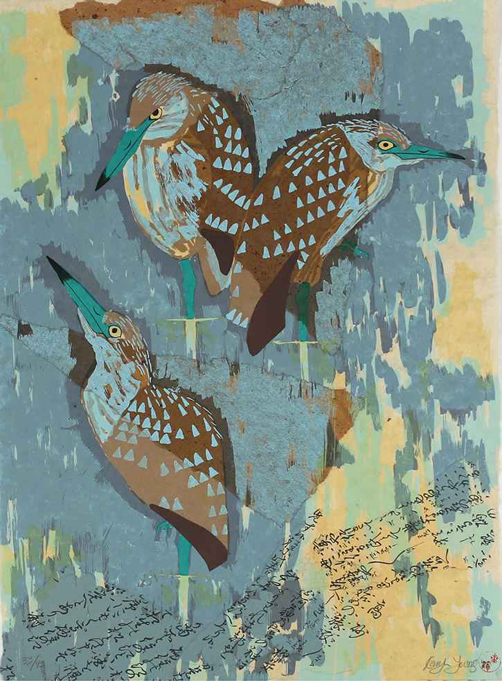 3 Birds by  Karyn Young - Masterpiece Online