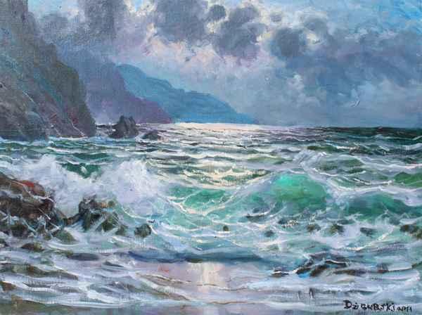Montara Moonlight by  A Dzigurski II - Masterpiece Online