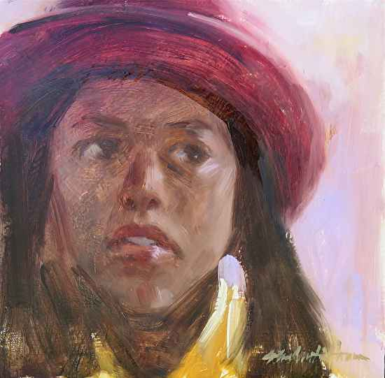 Red Hat by  John Austin Hanna - Masterpiece Online