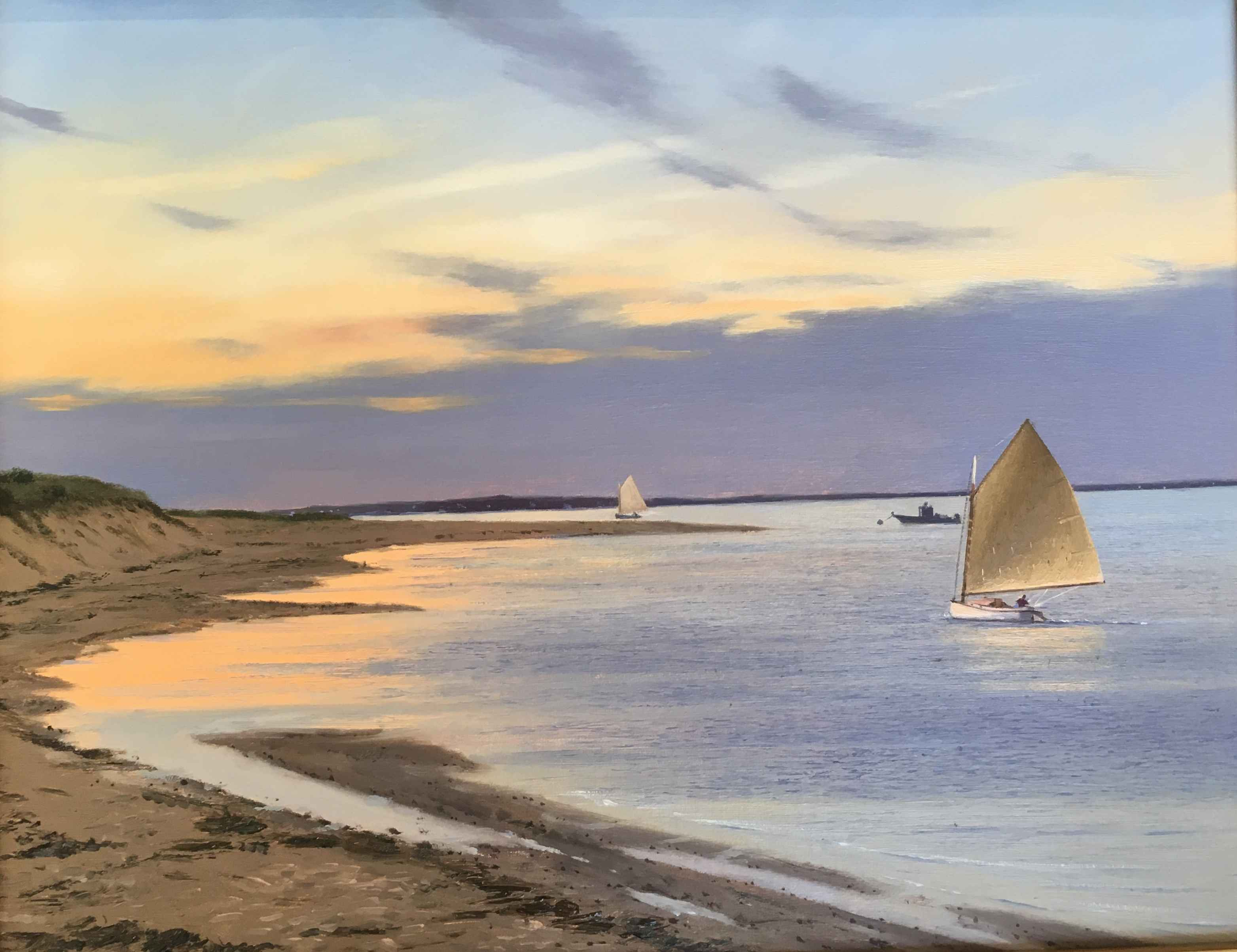 Sunset Sail by  Sergio Roffo - Masterpiece Online