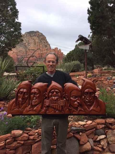Five Minstrels by  Mike Medow - Masterpiece Online