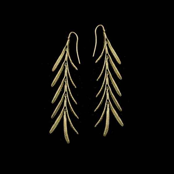 Rosemary Long Dangle Wire Earring