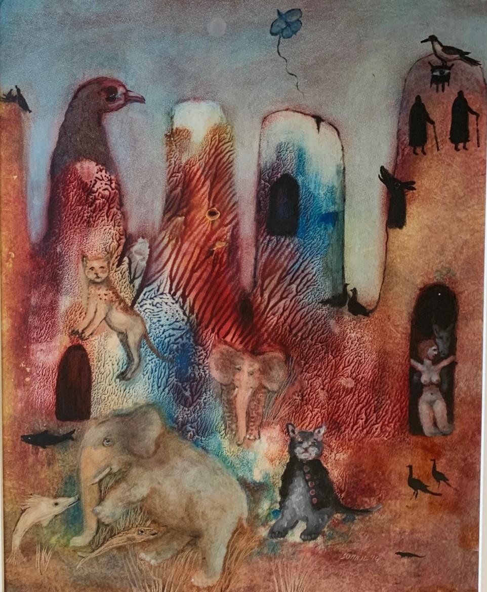 Fantasy Scene by  Sohail Tassaduq - Masterpiece Online