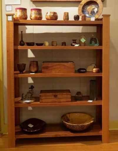 Silver oak Bookshelf by Mr. & Mrs. David & Doni Reisland - Masterpiece Online